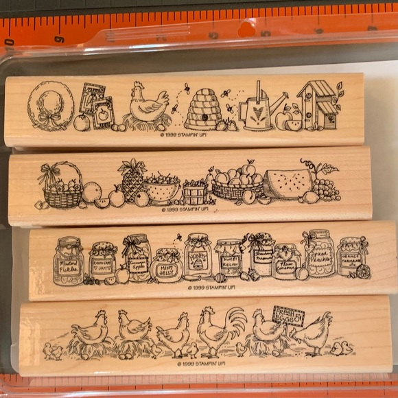 Stampin' Up! COUNTRY BORDERS